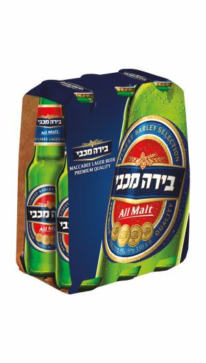 מכבי 330 מ״ל 24 יח'